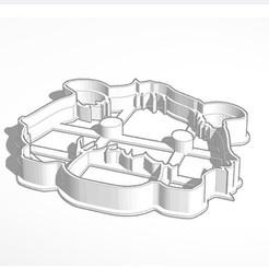 Poro Galleta.jpg Télécharger fichier STL L'emporte-pièce de la Ligue des légendes de Poro Snax • Modèle pour imprimante 3D, Inkimpresiones
