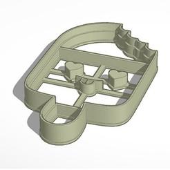 Helado.jpg Télécharger fichier STL Coupe-glace - (Fig 1) • Plan imprimable en 3D, Inkimpresiones