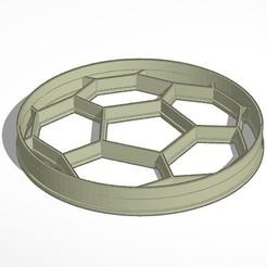 pelota.jpg Télécharger fichier STL Football - ballon de foot • Plan pour imprimante 3D, Inkimpresiones