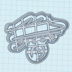 Firma.jpg Télécharger fichier STL Maradona pour toujours • Design pour impression 3D, Inkimpresiones