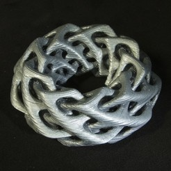 Download free 3D printer designs Self-Intersecting Torus, LYTEHAUS