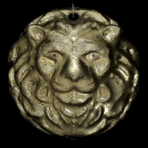 Download free 3D printer designs Lion Medallion, LYTEHAUS