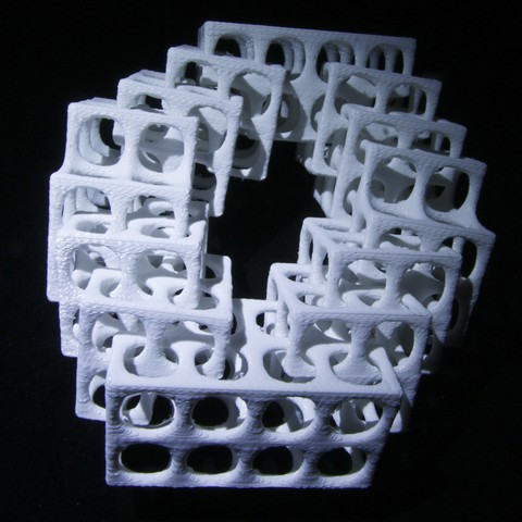 IMG_4602 A.JPG Download free STL file Interlaced Oddity • 3D printing template, LYTEHAUS