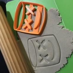IMG_7320.jpg Télécharger fichier STL MOULE À BISCUIT FORTNITE MASHMELLO CORTANTE • Design pour imprimante 3D, 12CREATIVO