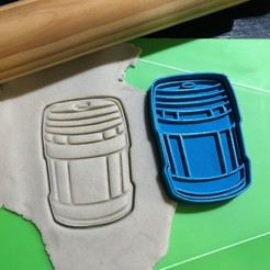 IMG_2612.JPG Download STL file Cookie Cutter Fortnite Plasma Bottle Bidon. Cutting + Stamping. • 3D printing template, 12CREATIVO