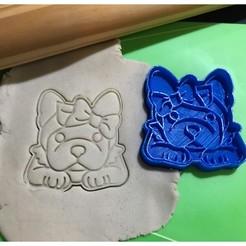 Impresiones 3D Perra Simones Dog Cookie Cutter. Estampa + Cortante , 12CREATIVO
