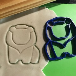 Download 3D printing files Pack Animals Cute Cookie Cutter. Cutting, 12CREATIVO
