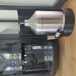 IMG_20200525_103553.jpg Télécharger fichier STL gratuit KRUPS cafetiere option pot a lait • Design pour impression 3D, MrK