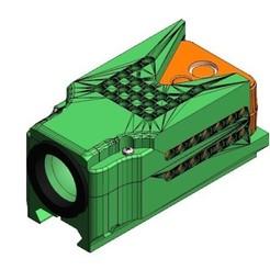 Télécharger fichier 3D runcam deux cas airsoft rail Picatinny, MrakilReda