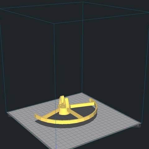 positionnement.jpg Download STL file Walkera F210 propeller guard • 3D printer object, Minkus