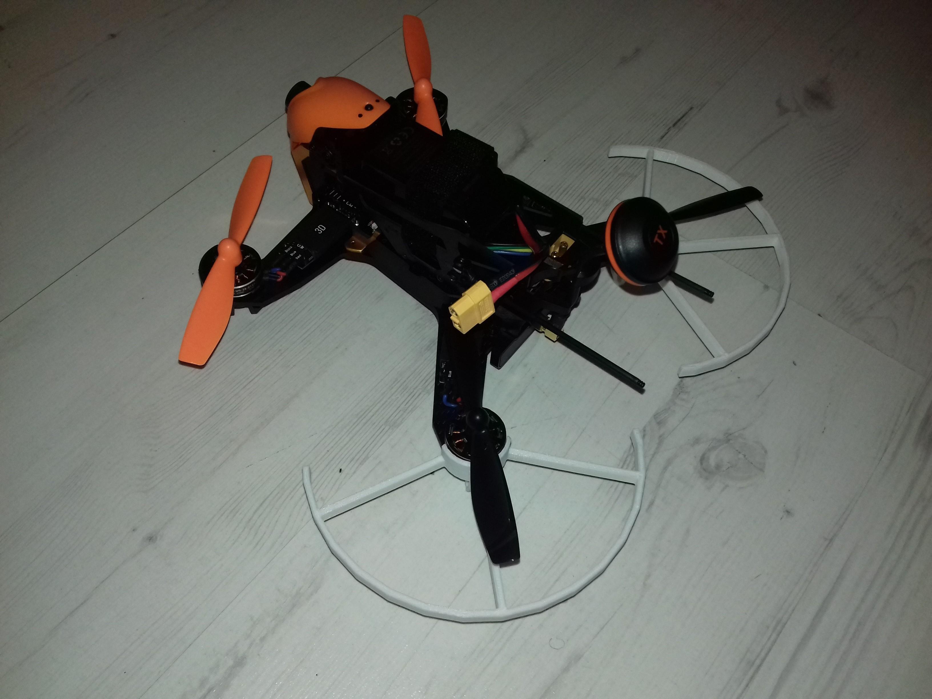 20171109_222801[1].jpg Download STL file Walkera F210 propeller guard • 3D printer object, Minkus