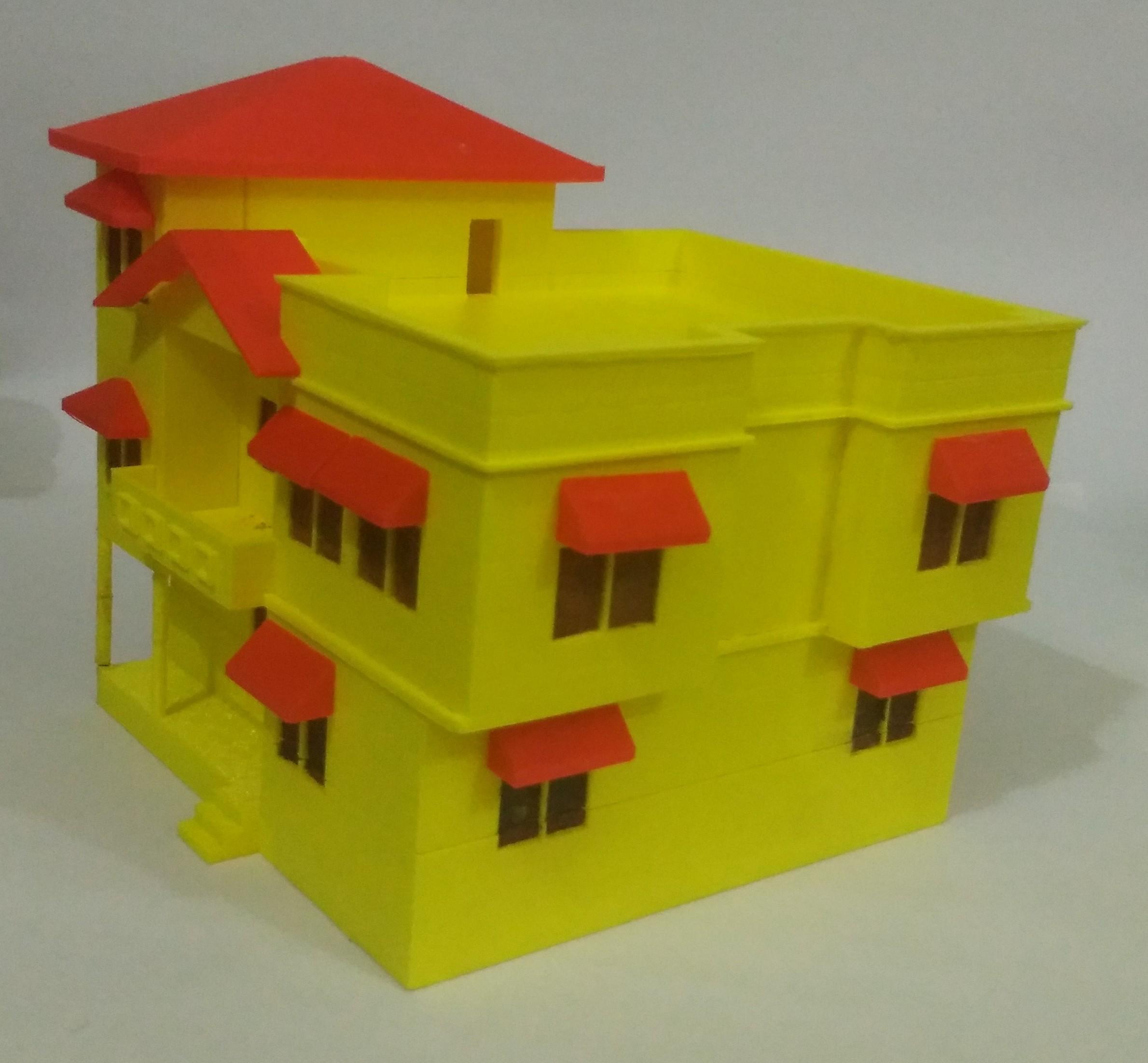 IMG_20170926_224312.jpg Download free STL file BUNGALOW • 3D printing design, onkar