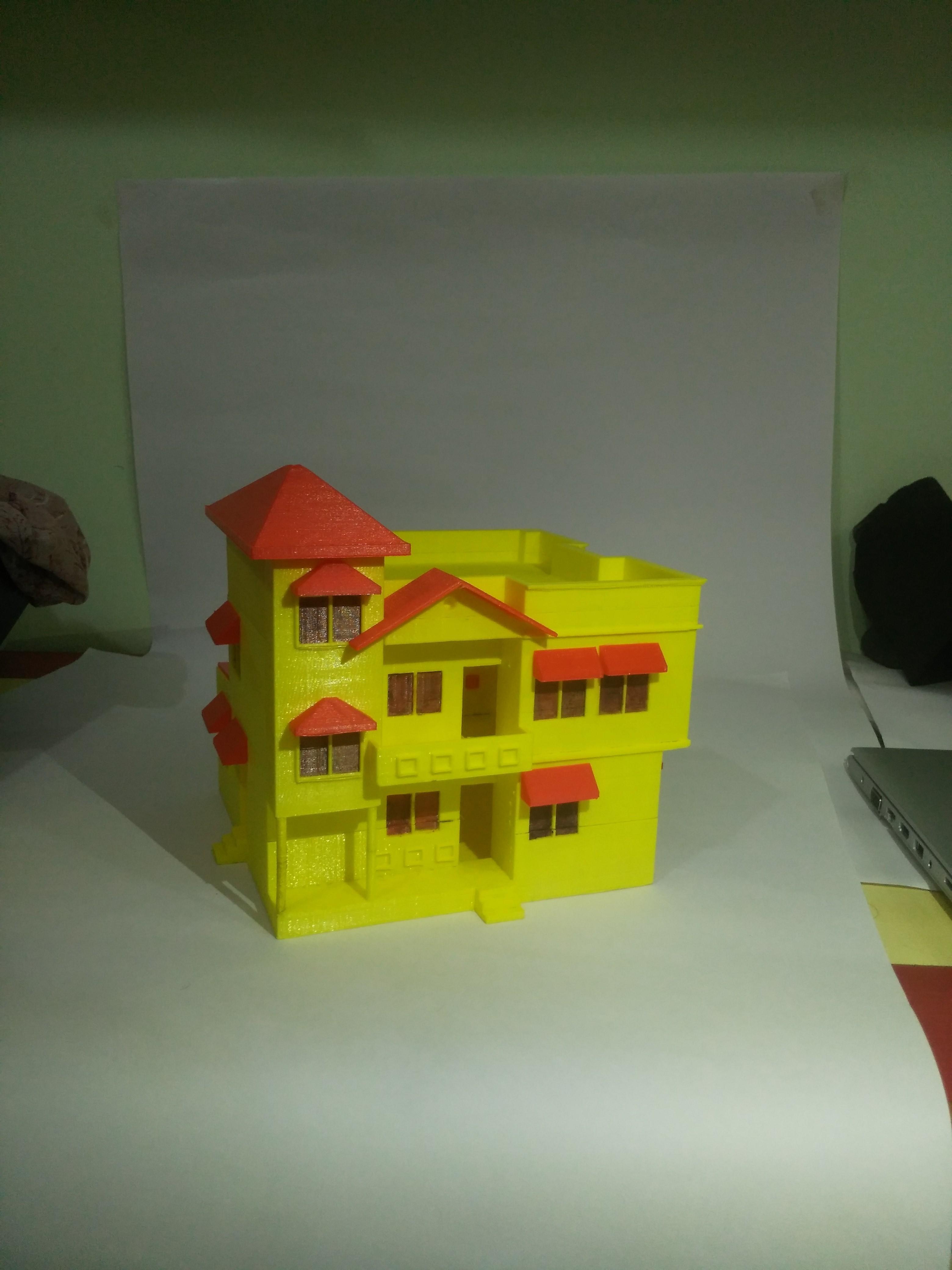 IMG_20170926_223919.jpg Download free STL file BUNGALOW • 3D printing design, onkar