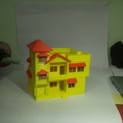 Free 3D printer designs BUNGALOW, onkar