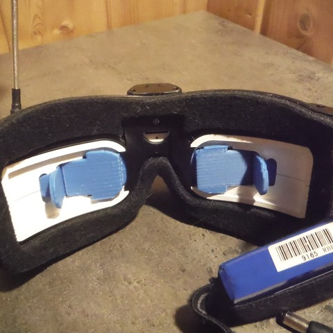 Free 3D printer model Lens protector for fatshark hdo, KEKER