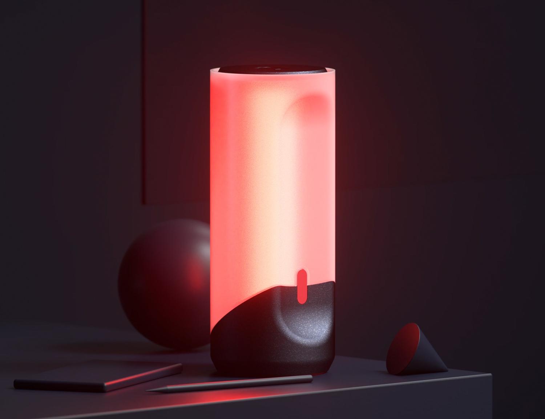 Lampara Led RGB 06.jpg Download free STL file RGB LED Lamp • 3D print template, dukedoks