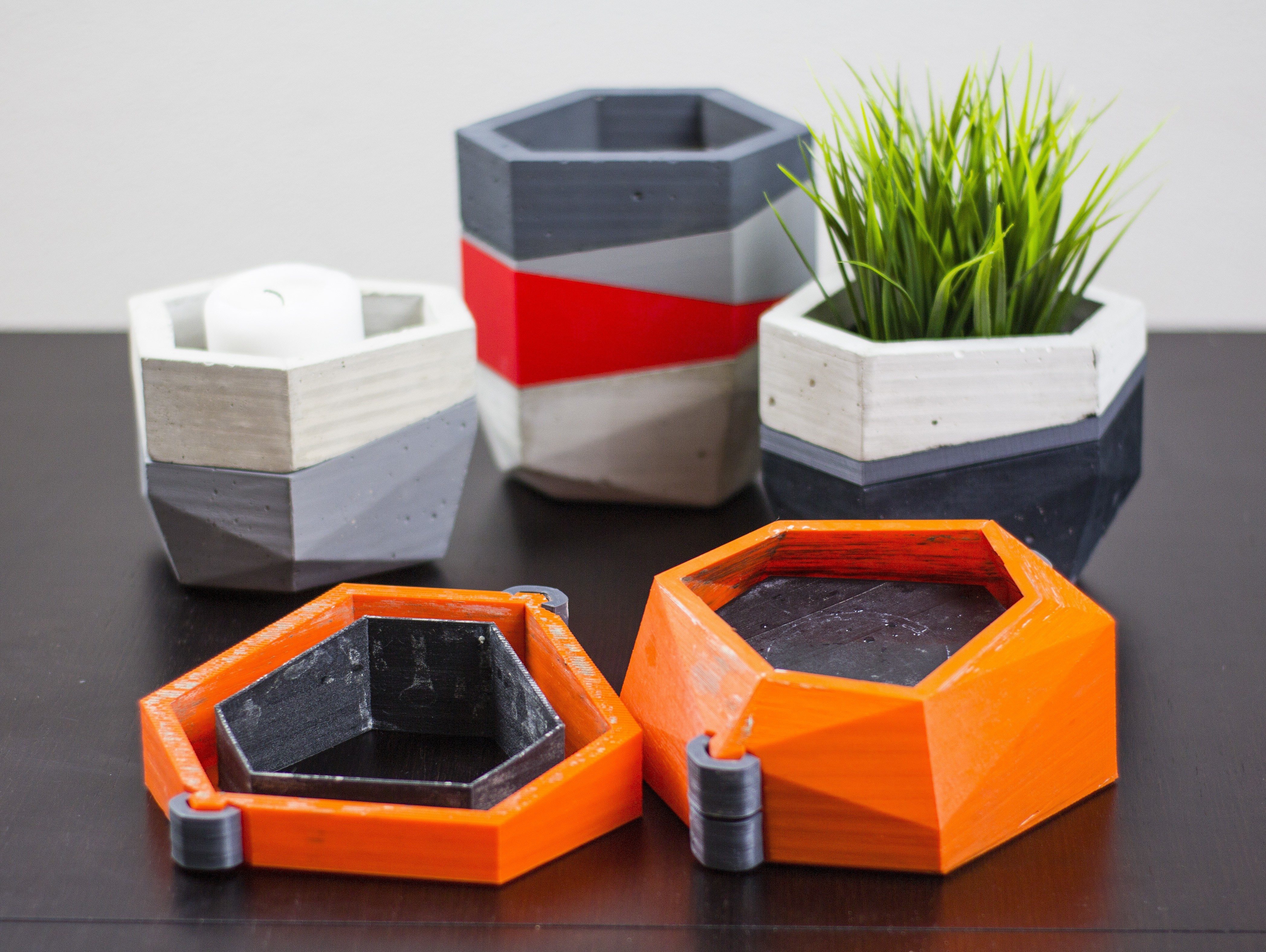Imagen 01.jpg Télécharger fichier STL gratuit Jardinières Mold béton • Modèle pour imprimante 3D, dukedoks