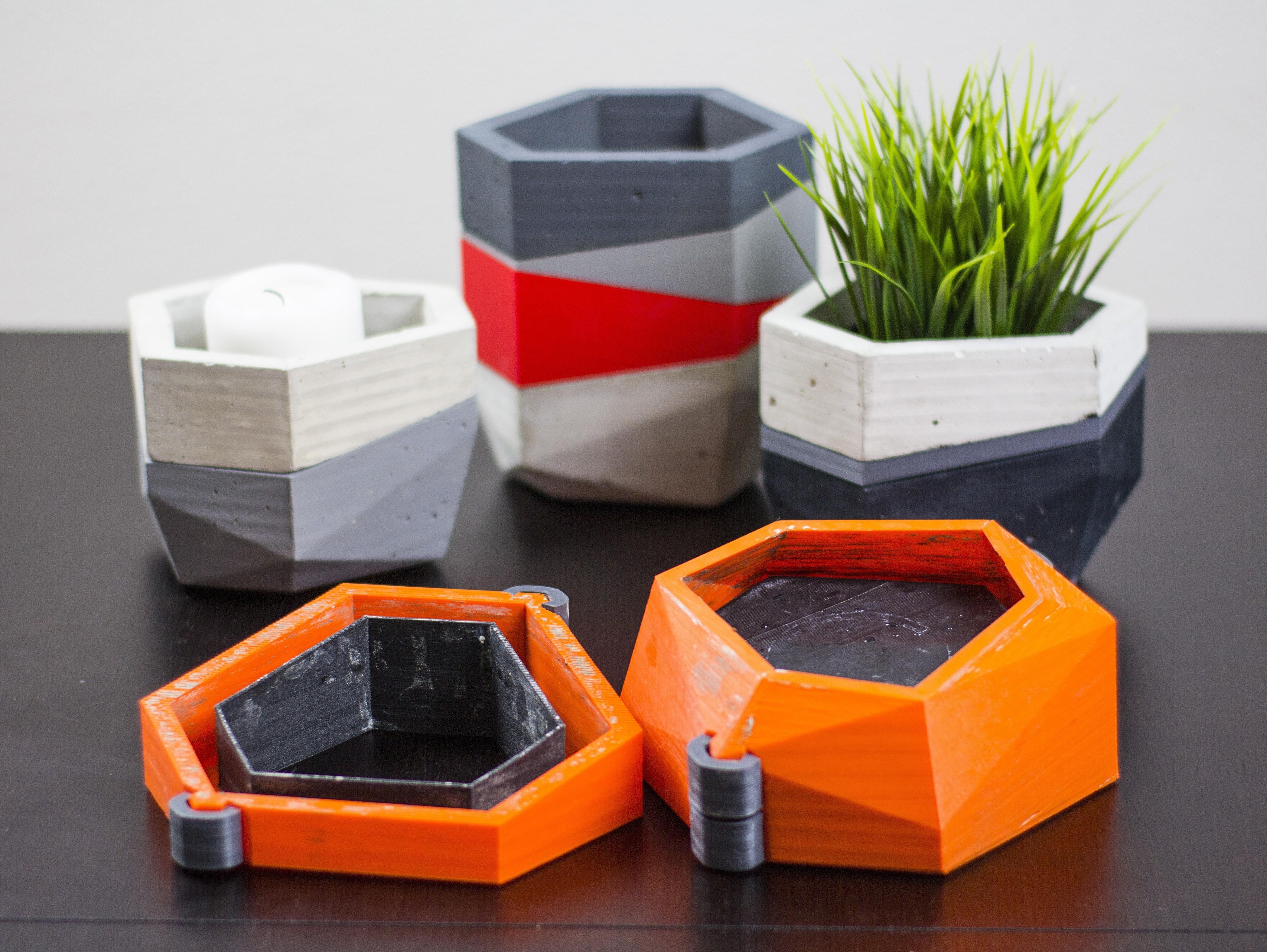 Imagen 01.jpg Download free STL file Concrete Planters Mold • 3D print model, dukedoks