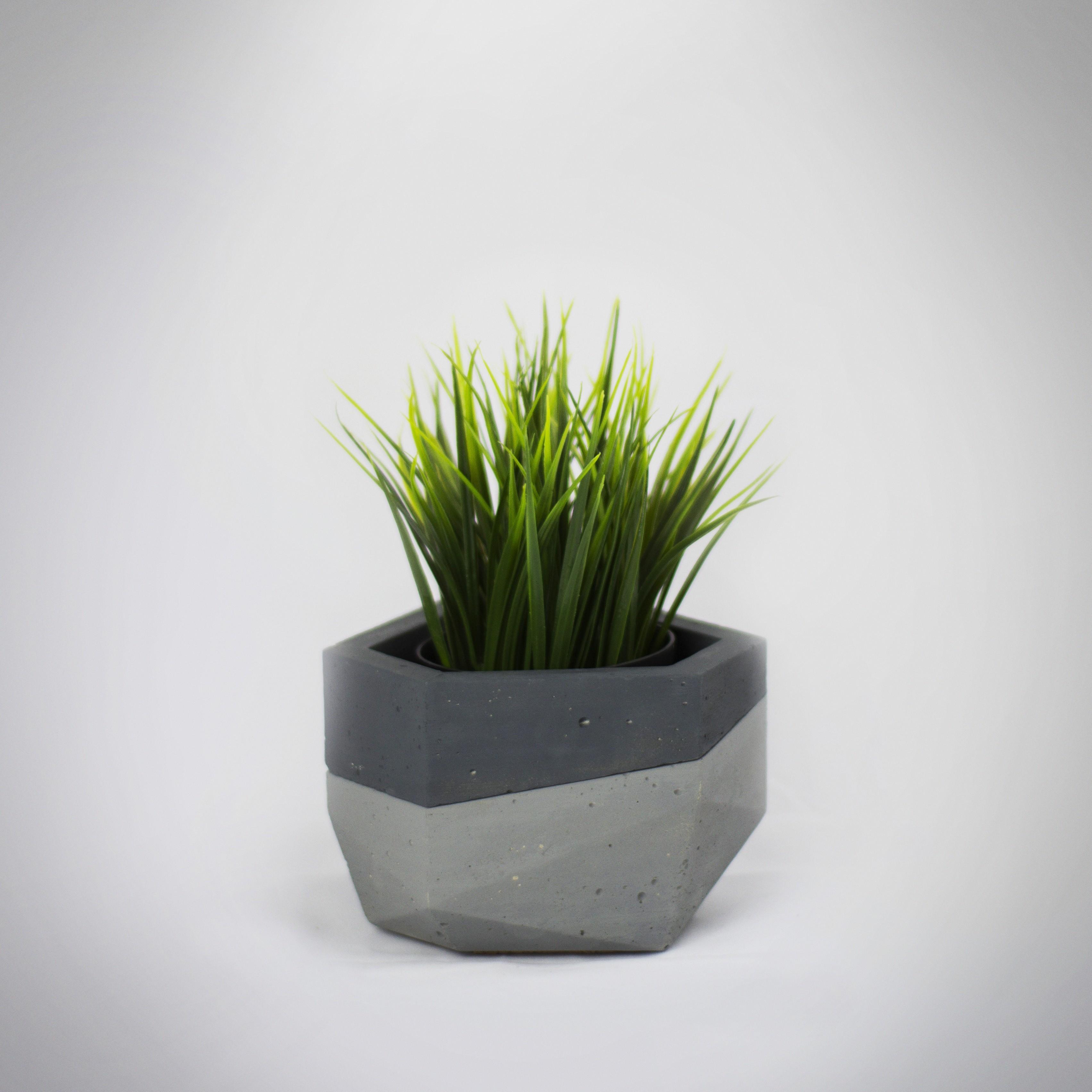 Macetero 5 insta.jpg Download free STL file Concrete Planters Mold • 3D print model, dukedoks