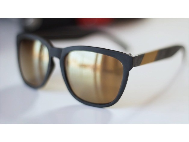 c202af5a83b80e57dc0d698e059a4440_preview_featured.jpg Download free STL file Sunglasses • Model to 3D print, dukedoks