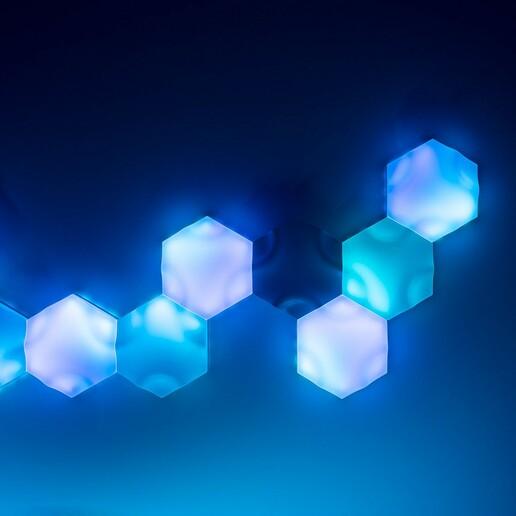 Paneles 07.jpg Télécharger fichier STL gratuit Panneaux muraux à leds (thermoformeuse) • Modèle à imprimer en 3D, dukedoks