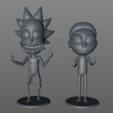 Download 3D printing models Rick Sanchez from Rick and Morty., dukedoks