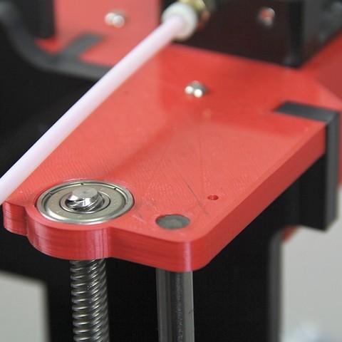 imagen 04.jpg Télécharger fichier STL gratuit Haut de mise à niveau Bowden Anet A6 droite • Plan pour imprimante 3D, dukedoks