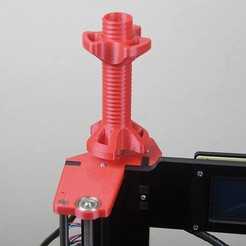 Download free STL Top upgrade Filament Holder Anet A6 Left, dukedoks