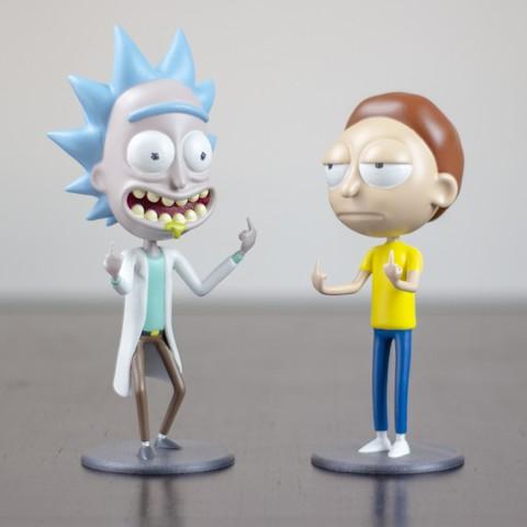 """Imagen 4.jpg Télécharger fichier STL gratuit Morty de """"Rick et Morty"""" • Design pour imprimante 3D, dukedoks"""