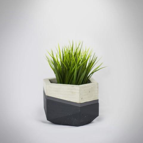 Macetero 1 insta.jpg Télécharger fichier STL gratuit Jardinières Mold béton • Modèle pour imprimante 3D, dukedoks