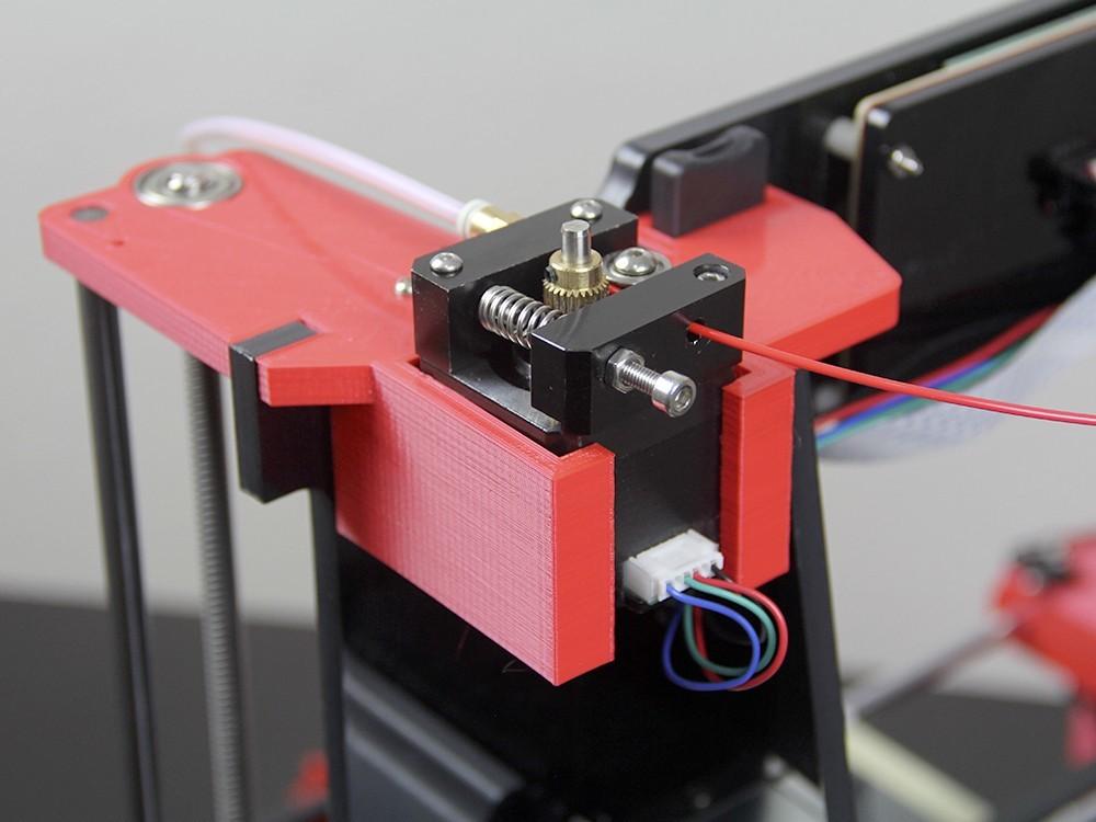 imagen 02.jpg Télécharger fichier STL gratuit Haut de mise à niveau Bowden Anet A6 droite • Plan pour imprimante 3D, dukedoks