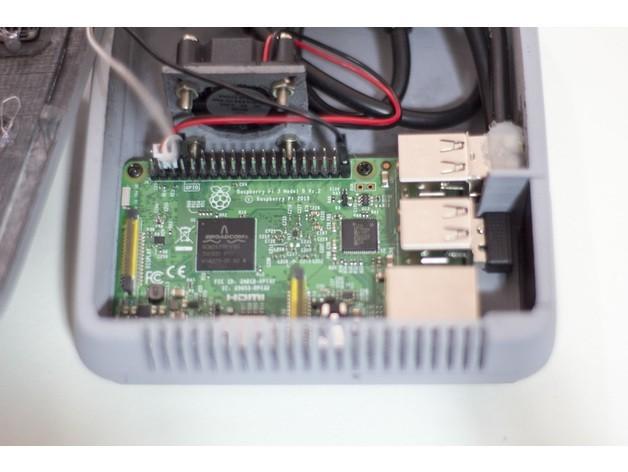 8d0f1dbee6cf346ff8b6341ac33fd2c9_preview_featured.jpg Télécharger fichier STL gratuit Snes Mini Raspberry Pi • Plan pour imprimante 3D, dukedoks