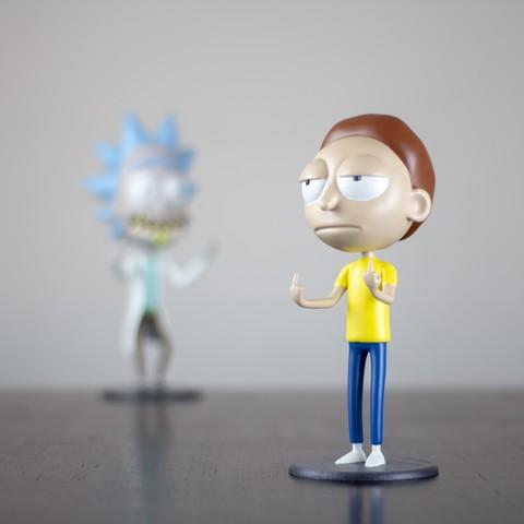 """Imagen 2.jpg Télécharger fichier STL gratuit Morty de """"Rick et Morty"""" • Design pour imprimante 3D, dukedoks"""