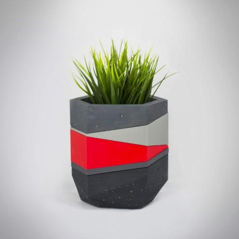 Macetero 6 insta.jpg Télécharger fichier STL gratuit Jardinières Mold béton • Modèle pour imprimante 3D, dukedoks