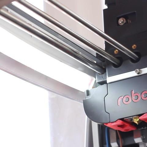 Archivos STL gratis Robo LED strip mount, dukedoks