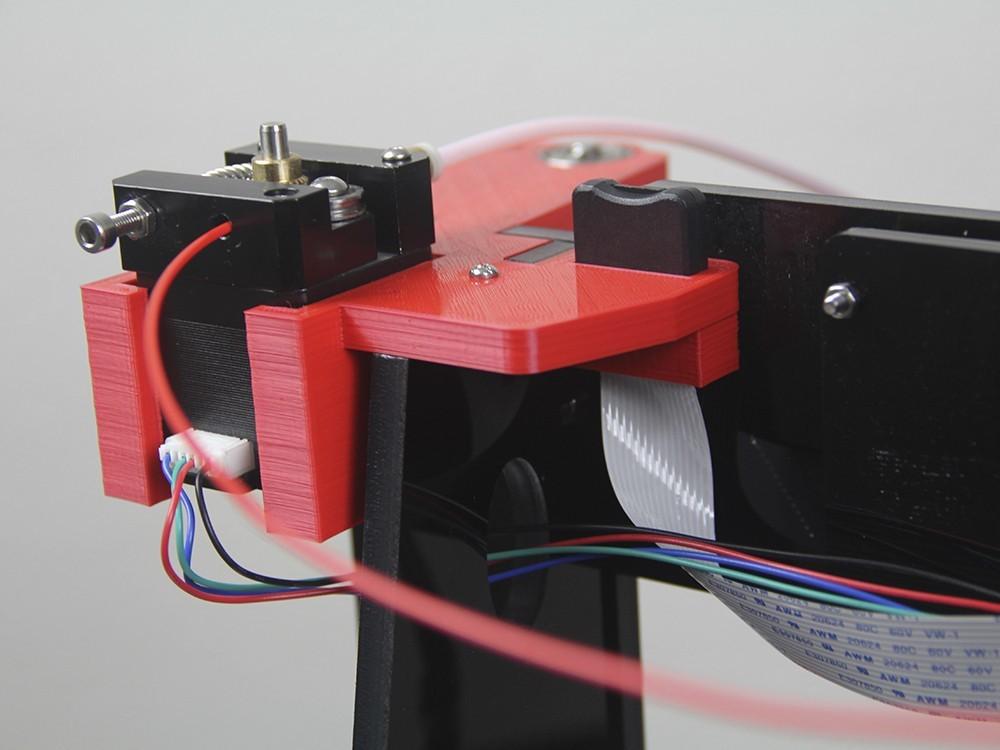 imagen 03.jpg Télécharger fichier STL gratuit Haut de mise à niveau Bowden Anet A6 droite • Plan pour imprimante 3D, dukedoks