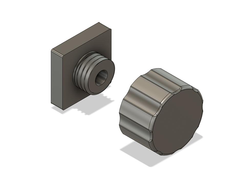 Soporte filamento 03.jpg Télécharger fichier STL gratuit Porte-filament Alfawise • Modèle à imprimer en 3D, dukedoks