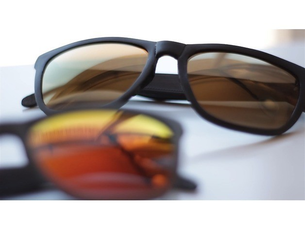 2d3567ffecb7898eafd2dbf908c26aea_preview_featured.jpg Download free STL file Sunglasses • Model to 3D print, dukedoks