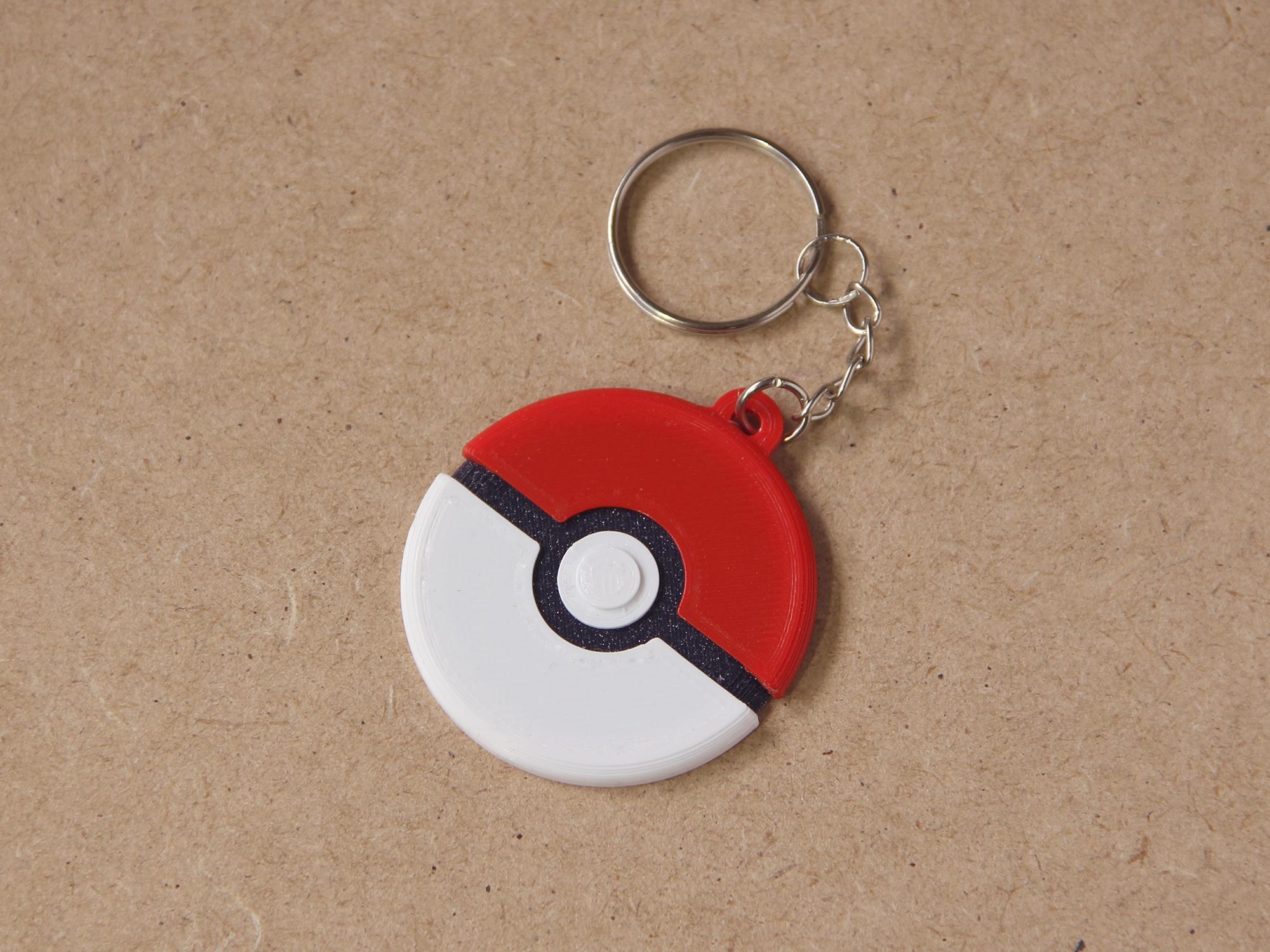 Miniaturas thingiverse 01.jpg Download free STL file Keychain Multicolor Pokemon • 3D printer template, dukedoks