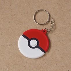 Télécharger plan imprimante 3D gatuit Porte-clés Pokémon multicolore, dukedoks