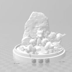Screenshot (60).png Download OBJ file marowak diorama • Object to 3D print, LorenzoCatini