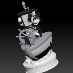 Impresiones 3D mickey mouse steamboat willie, LorenzoCatini