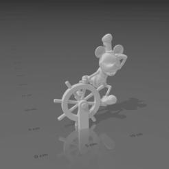 Screenshot (121).png Download OBJ file mickey mouse keychain • 3D printable model, LorenzoCatini