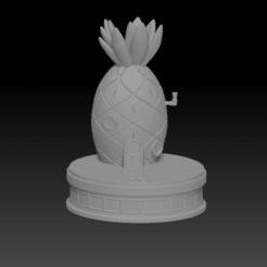 Screenshot (88).png Download OBJ file Songebob house bundle • 3D printer model, LorenzoCatini