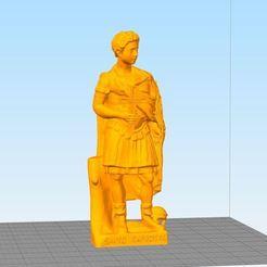 Santo 1.JPG Télécharger fichier STL gratuit Santo Expedito/Saint Expedite • Objet pour imprimante 3D, KlausGargitter