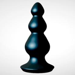 Download STL file King Butt Plug • 3D print model, KingPro