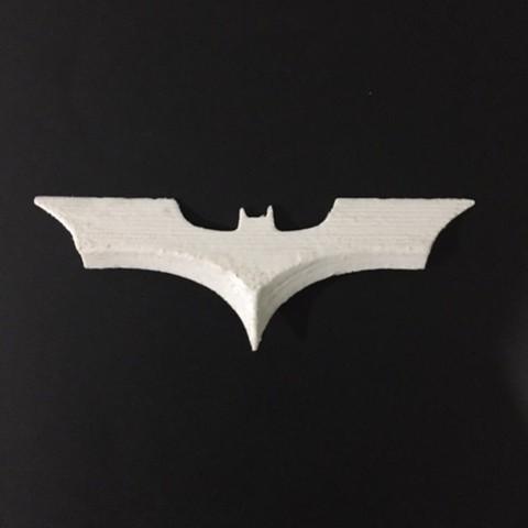 Download free STL file BATARANG !!! • 3D printing design, Gust