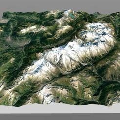 Descargar archivo 3D Mapeo - Su viaje en relieve, MathieuM3D