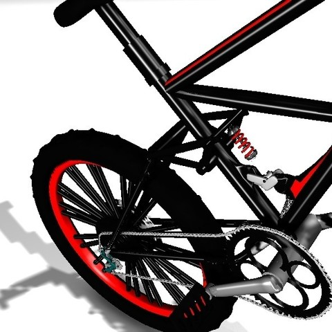 Download free STL file Mountain bike *MAYA**(MB)* • 3D printer design, Alex32