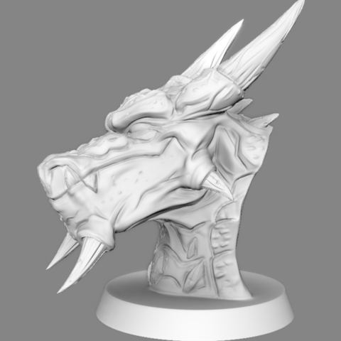 Capture d'écran 2017-07-27 à 16.59.45.png Download free OBJ file  Snow Dragon  • 3D printing model, LSMiniatures